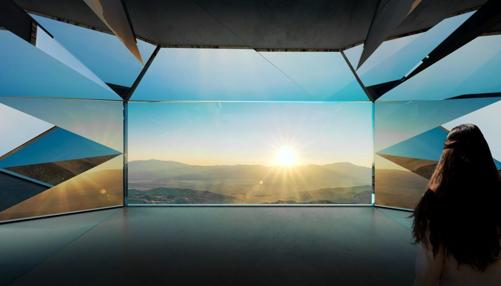 Desert X Mirror House