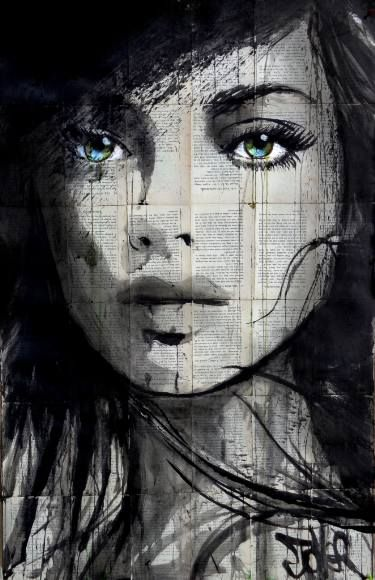 """Saatchi Art Artist Loui Jover; Drawing, """"don't know why"""" #art"""