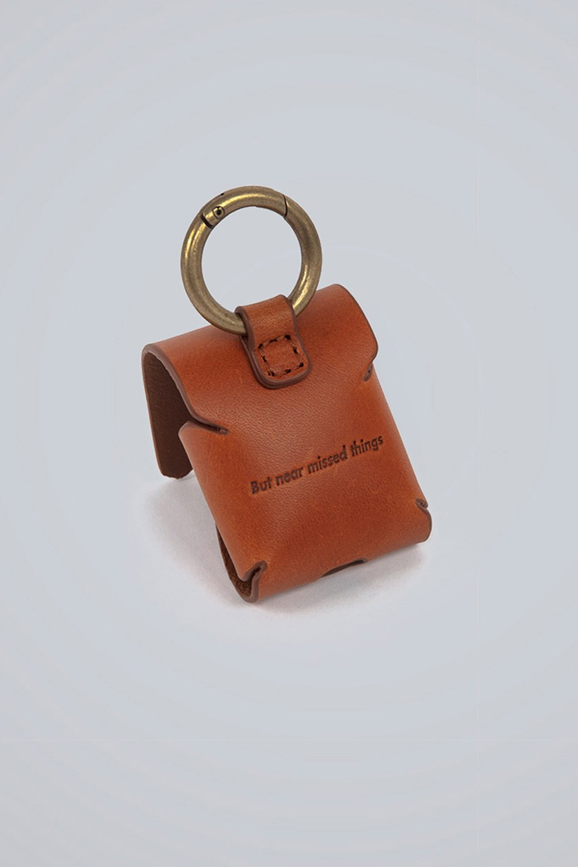 Ader Error Drops Line Of Signature Branded Airpod Cases Leather Carry Pouch Ader Error Ader Leather