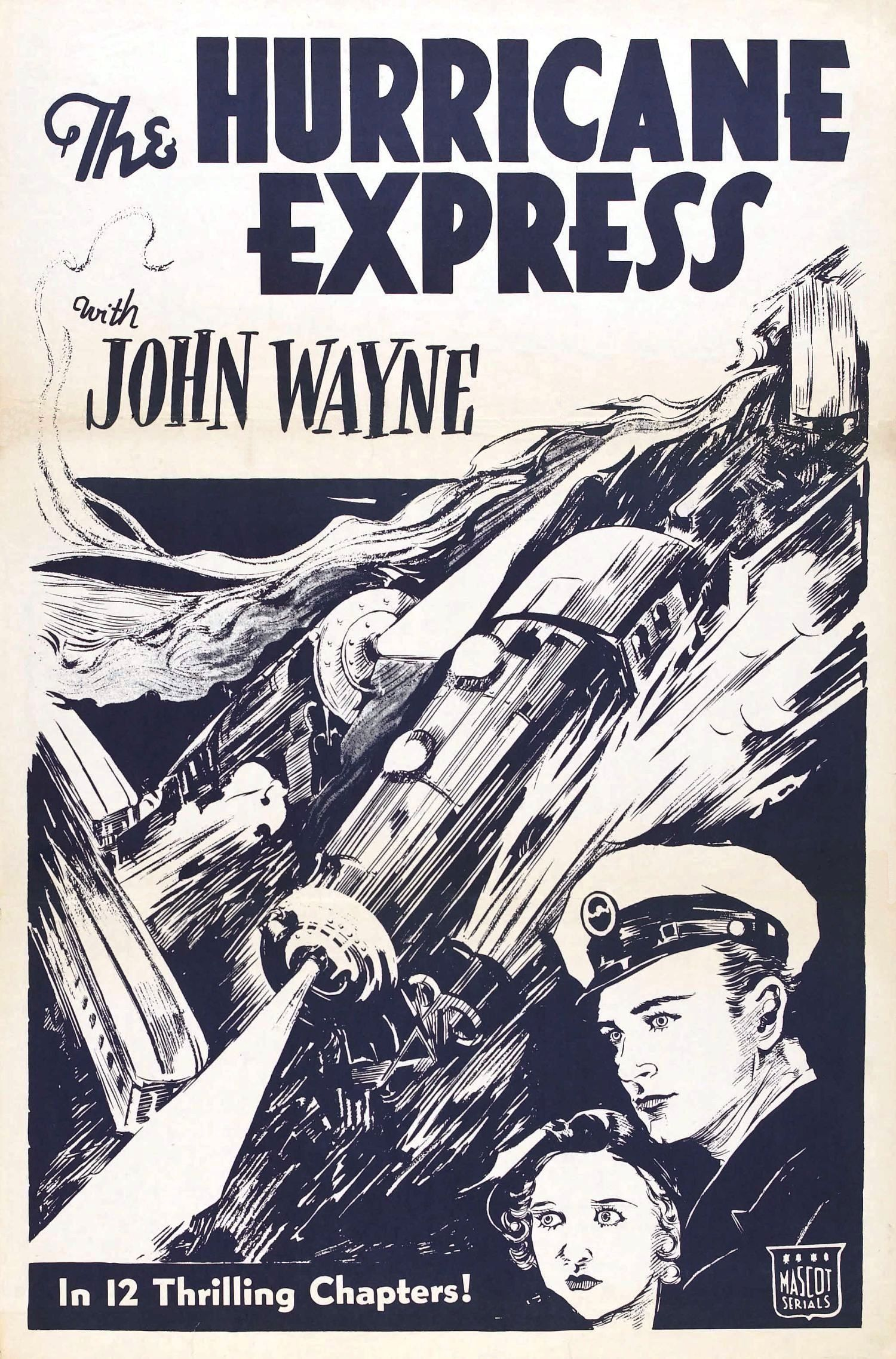 The Hurricane Express 1932 Old Movie Posters Movie Subtitles Movie Lover