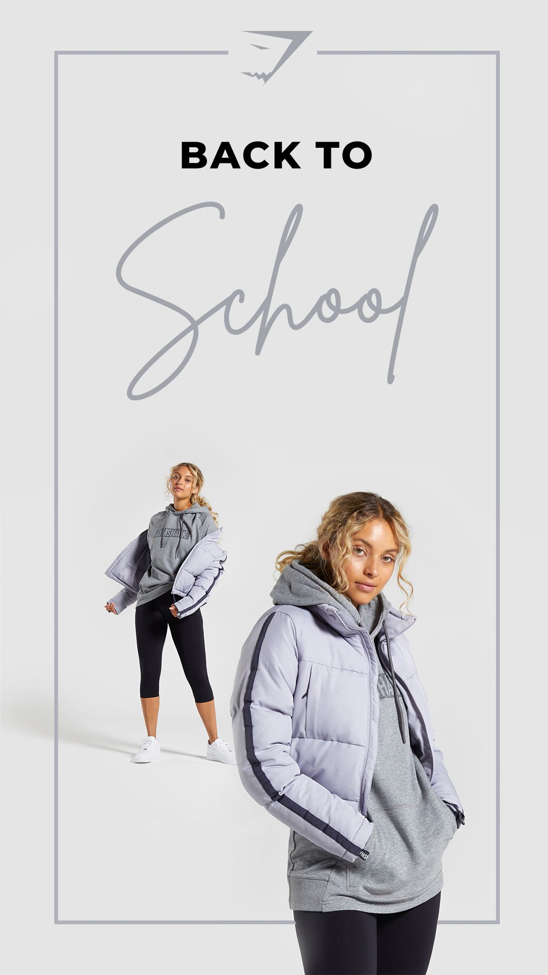 It S Always A Panic On The First Day Of School For Your Outfit We Ve Got You Covered Style The Over Oversized Puffer Jacket College Wardrobe Comfy Fashion [ 1920 x 1080 Pixel ]