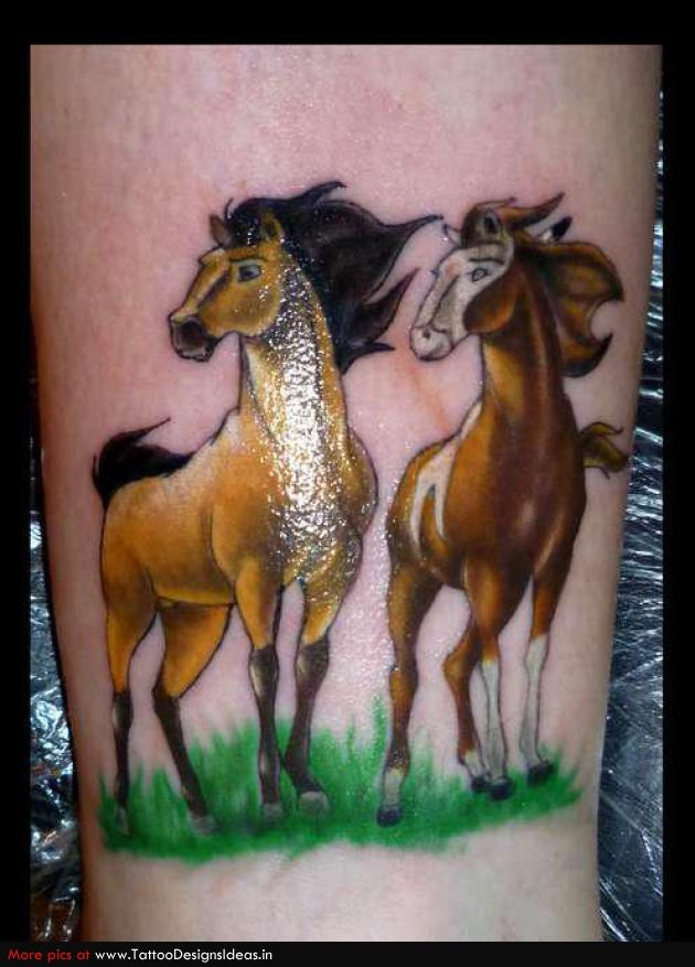 Spirit Stallion Of The Cimaron I Wouldnt Get This Tattoo But I