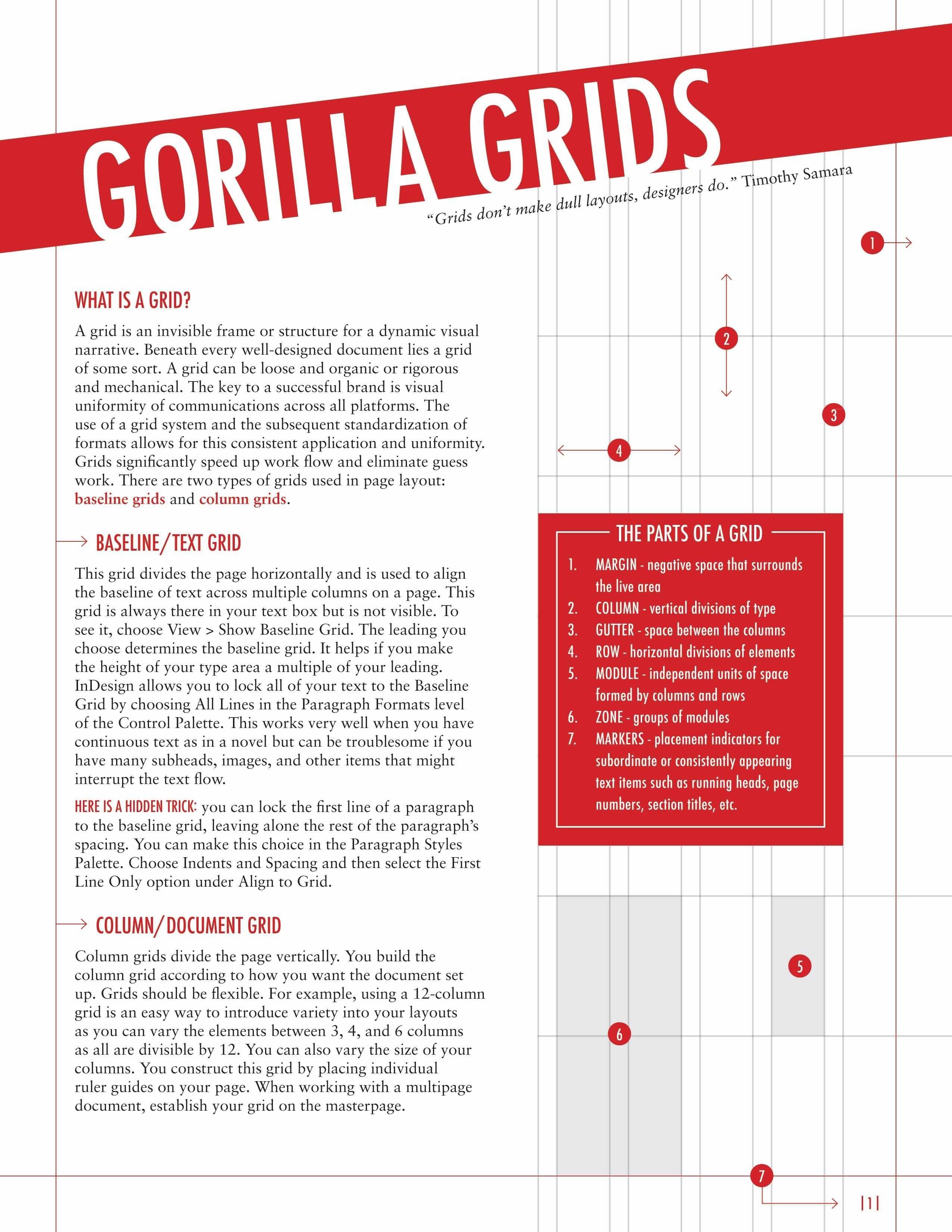 Gorilla Grids  Infographic Zone    Education