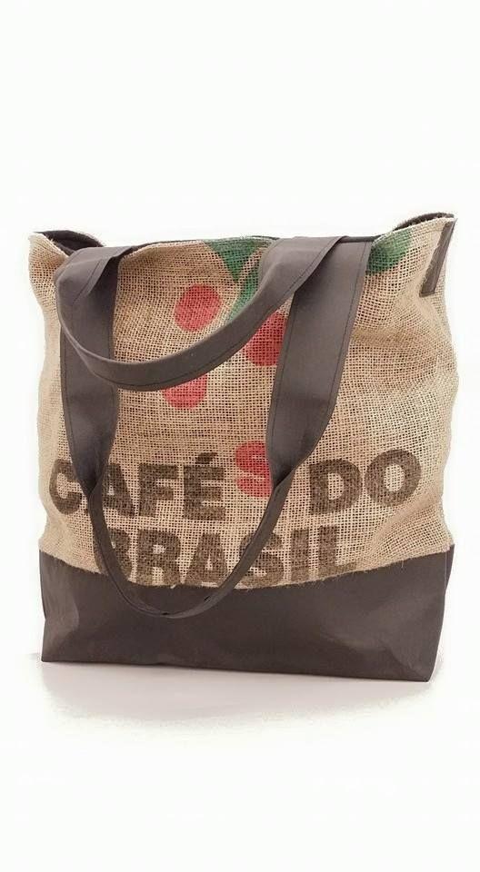 Tasche SnapPap Kaffeesack | Taschen | Pinterest | Nähen, Taschen ...