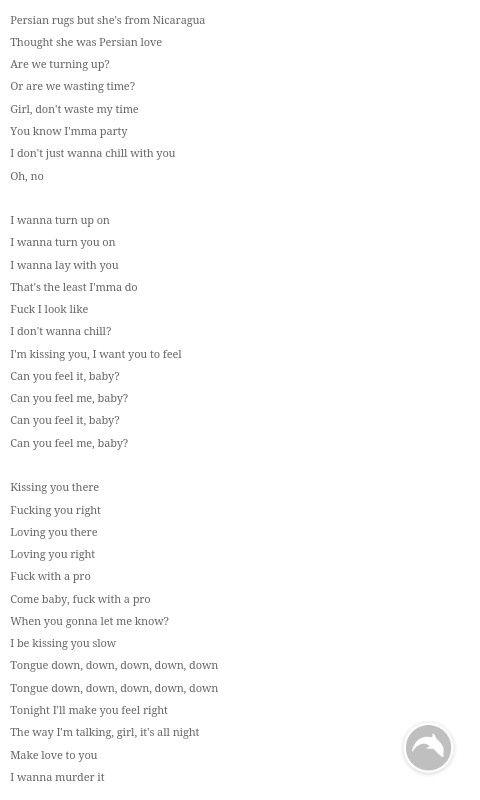 Persian rap lyrics