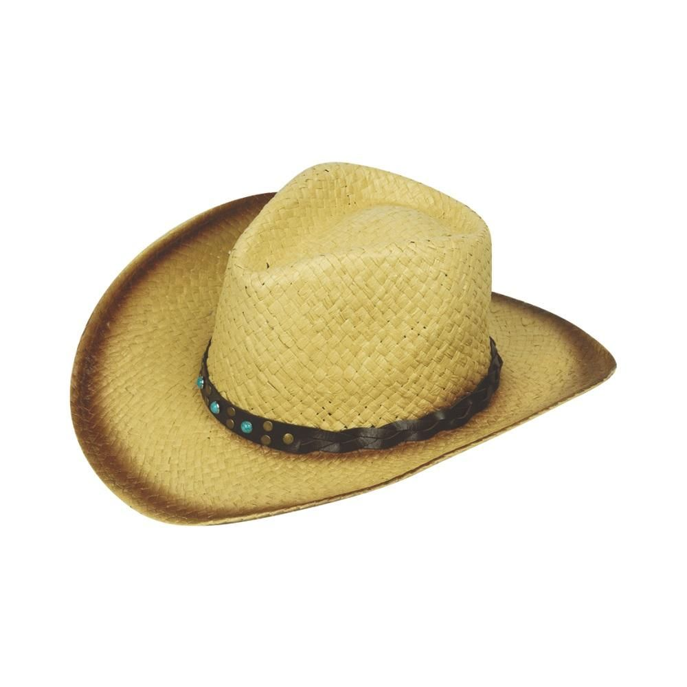 7c0cebe8bf44a Cowboy Hat Straw Brown Ombre