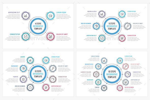 Business Timeline Elements Template PSD, Vector EPS, AI Il