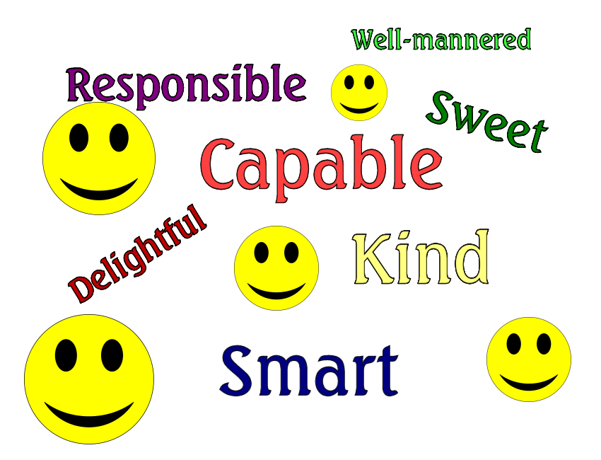 nice words to describe someone - Google Search | Ideas for work ...