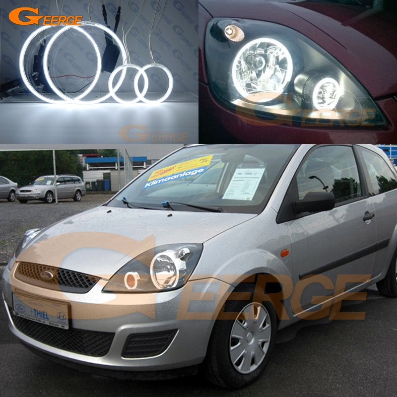 Find More Car Light Assembly Information About For Ford Fiesta Facelift 2005 2006 2007 2008 Excellent Angel Eyes Ultra Bright Angel Eyes Ford Fiesta Car Lights