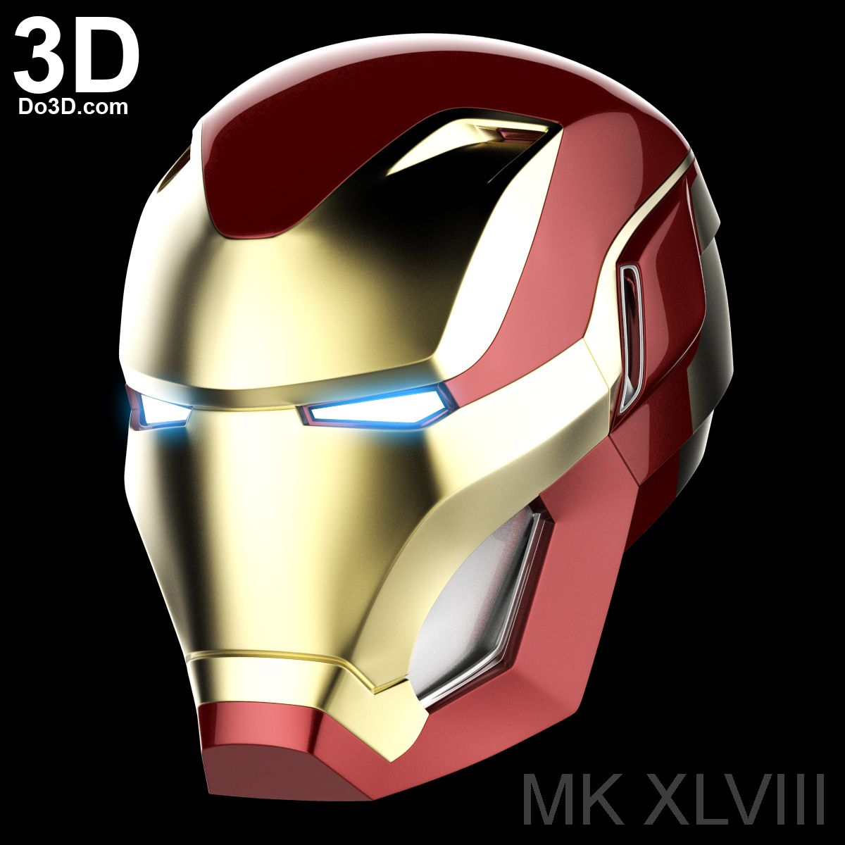 3D Printable Model: Iron Man Mark XLVIII MK 48 Avengers ...