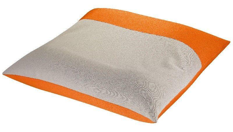 coussin 100 x 100 Coussin XXL Noe orange/ficelle 100x100 | Orange, Jaune et Déco coussin 100 x 100