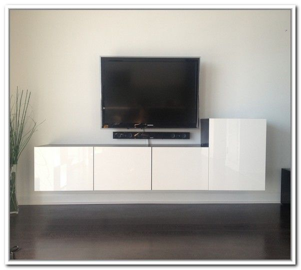 Wall Mounted Media Storage Ikea Jpg 602 541 Pixels
