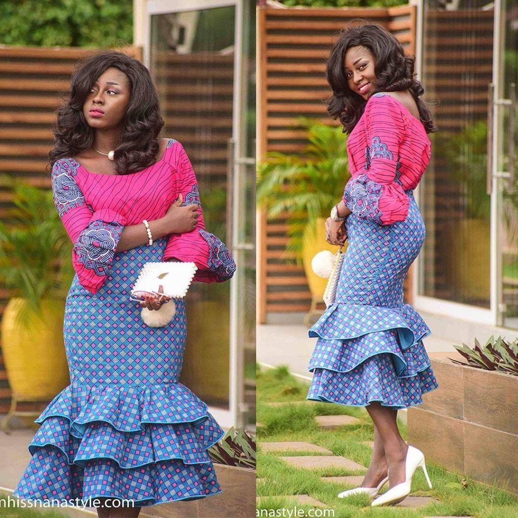 ANKARA SHORT DRESSES STYLE | Fashion | Pinterest | African Fashion ...