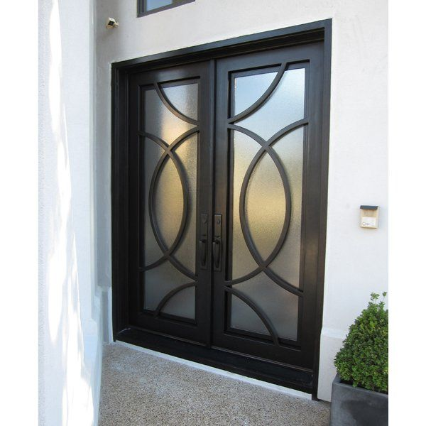 Idd Forged Iron Doors Series Has The Doors And Transoms You Need To Customize The Perfect And Secure Entryway This Hi Front Entry Doors Iron Doors Entry Doors