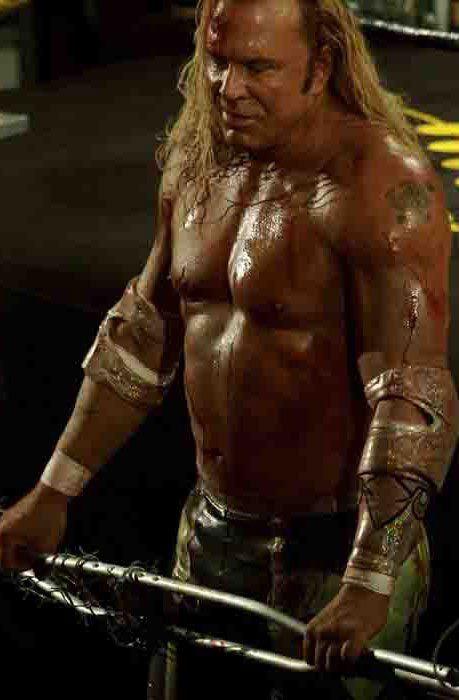 Mickey Rourke en El Luchador - Mickey Rourke interpreta a un ...