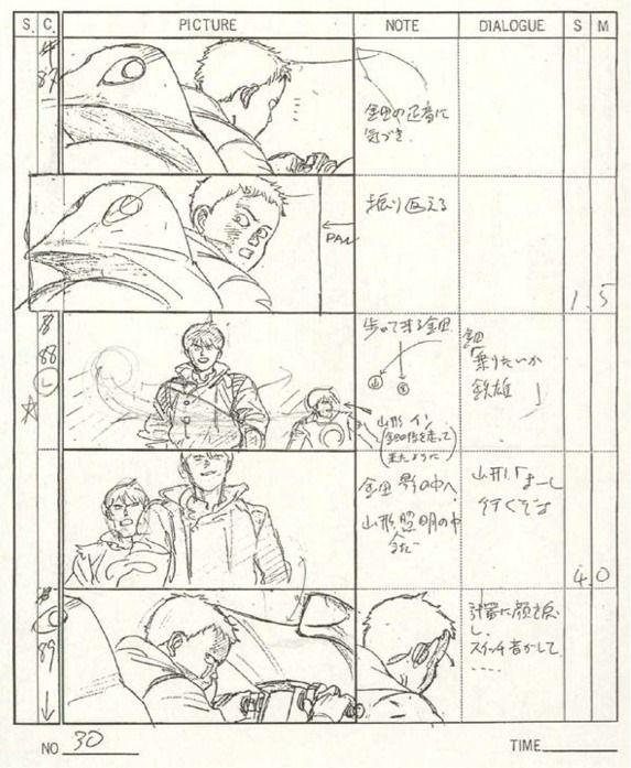 MononokesboardJpg   Anime Storyboard Drr