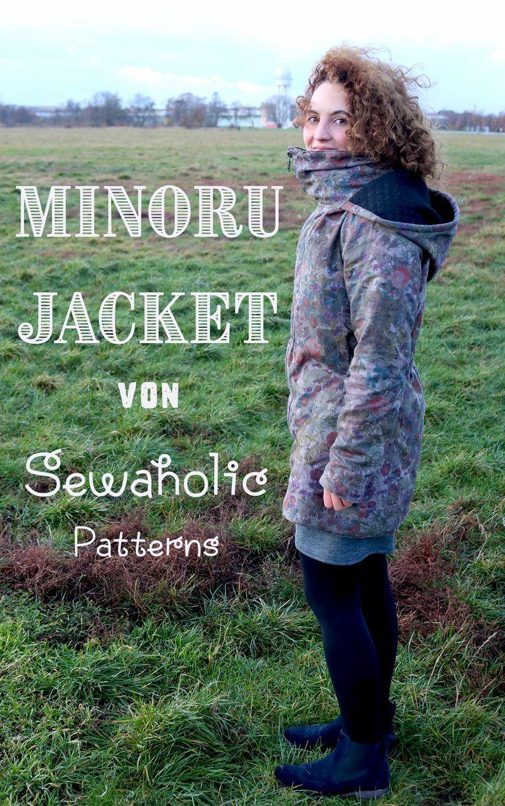 Genäht - Minoru Jacket für den Herbst | Jacke nähen ...