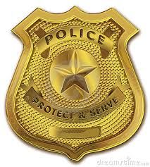 graphic about Printable Police Badge known as law enforcement badge printable - Google Glimpse Golden Law enforcement