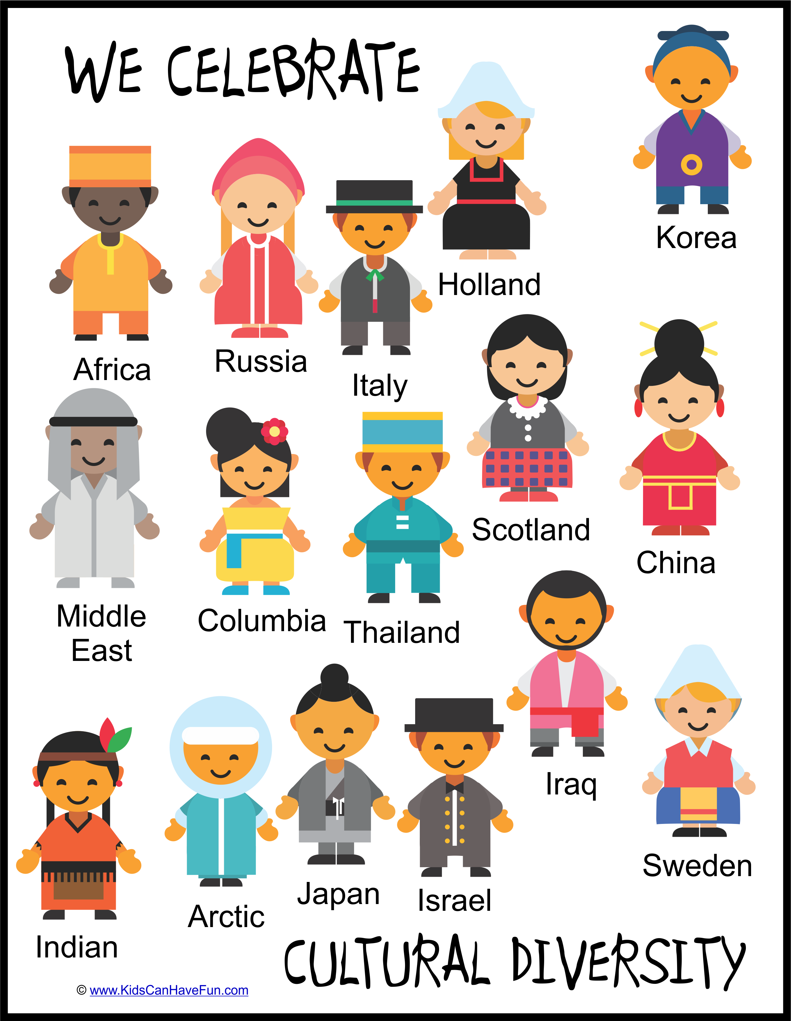 Pin On Diversity Posters And Activities