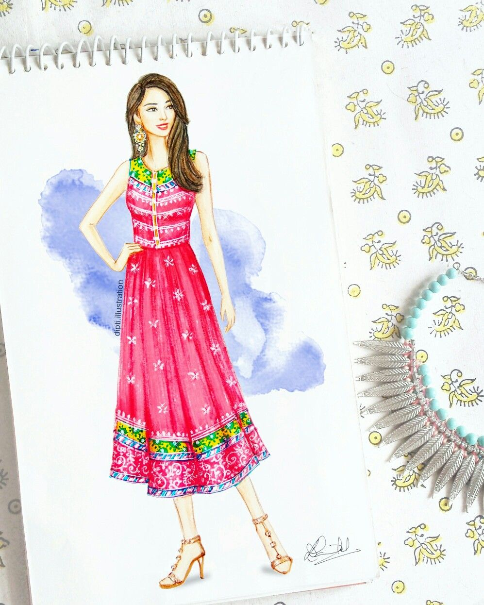 Fashion Sketch Indian Festival Fashion Illustration Sketches Dresses Fashion Drawing Dresses Dress Sketches