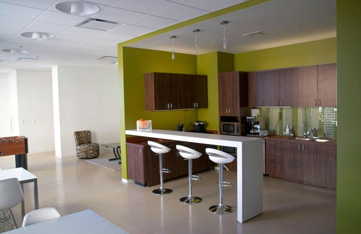 office workspace cool home office and office break room ideas contemporary lime green