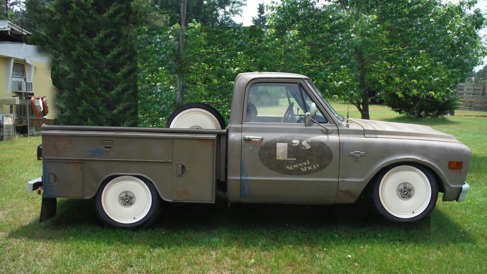 Photoshop Plan For My Truck 1968 C10 Utility Bed Work Truck
