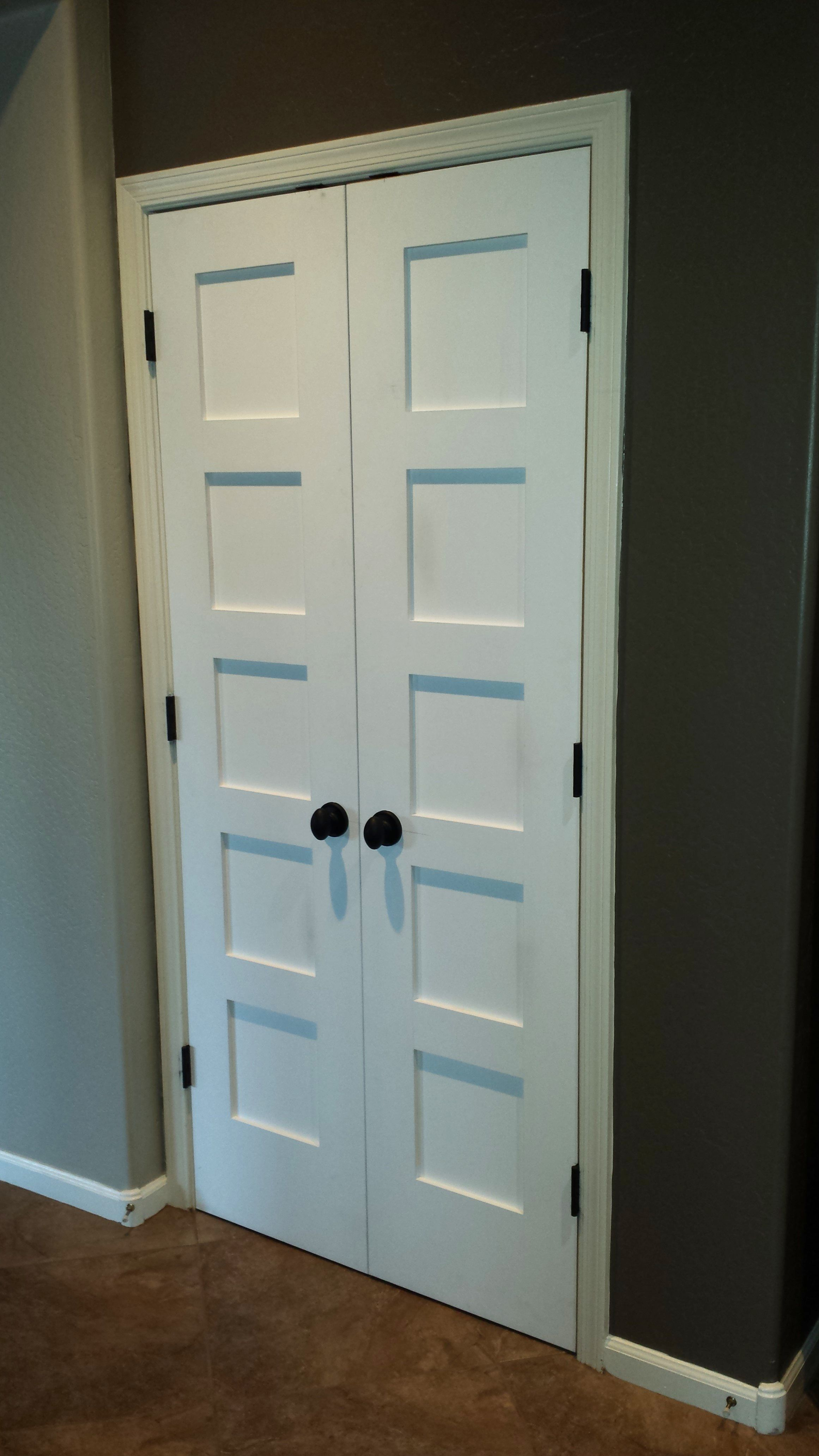 living but pin door french standard have we and a between kitchen currently closet the would doors room
