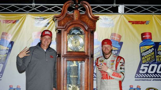 Dale Earnhardt Jr Cleaned Their Clocks At Martinsville Speedway Earnhardt Jr Dale Earnhardt Jr Martinsville Speedway