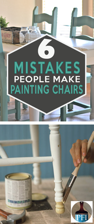 7 Mistakes People Make Painting Kitchen Chairs Painted Furniture