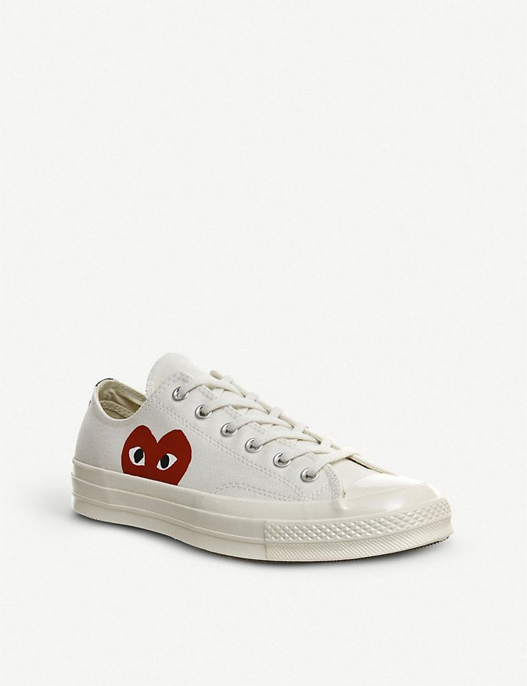 x Converse 70s canvas low-top trainers