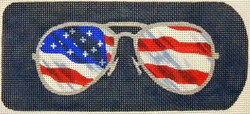 Eyeglasses Case Flag Aviators