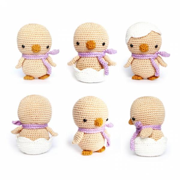 Easter Chick amigurumi pattern by RoKiKi | Ganchillo, Patrones ...