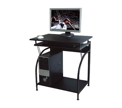 Comfort Products Stanton Computer Desk Black By Office Depot Officemax