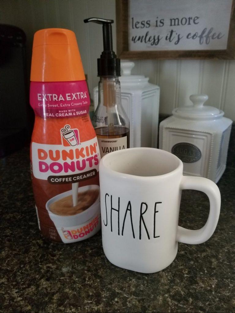 Diy dunkin donutsstarbucks copy cat french vanilla iced
