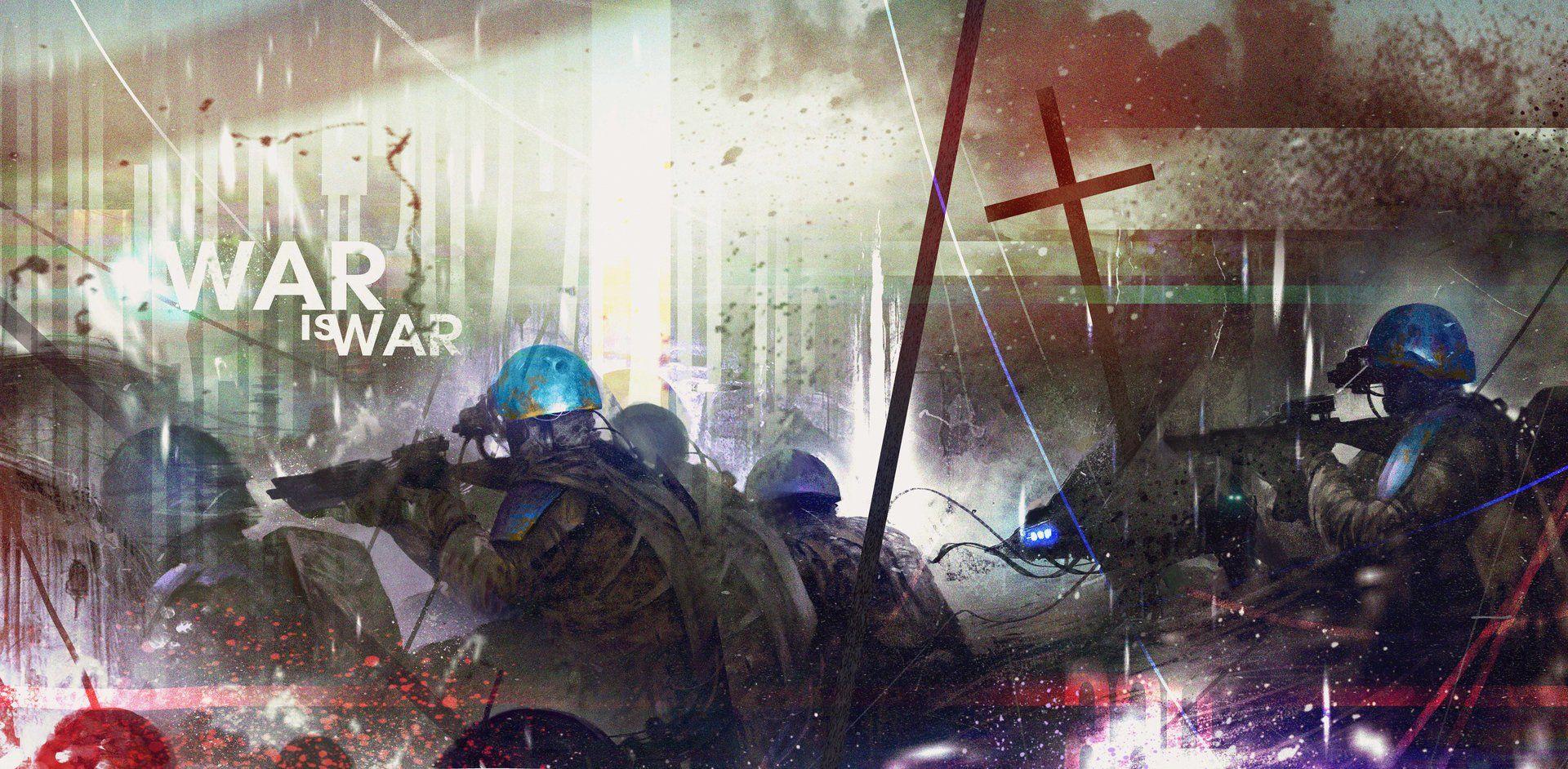 ArtStation - War is war, Max Bedulenko