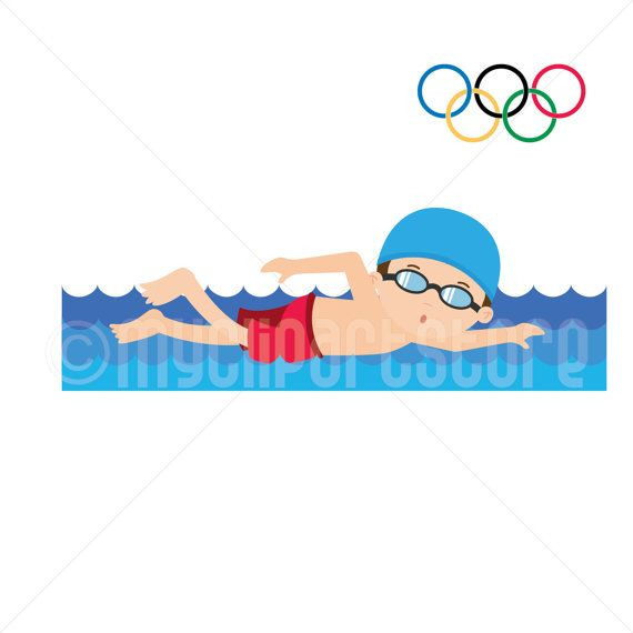 Clipart Summer Olympics Swimming Olympic Games Boy Rh Ro Com Competitive Clip Art Swing