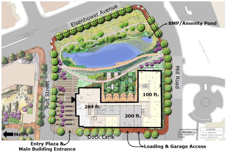 Block 19 Paradigm Project In Eisenhower East Alexandria, VA