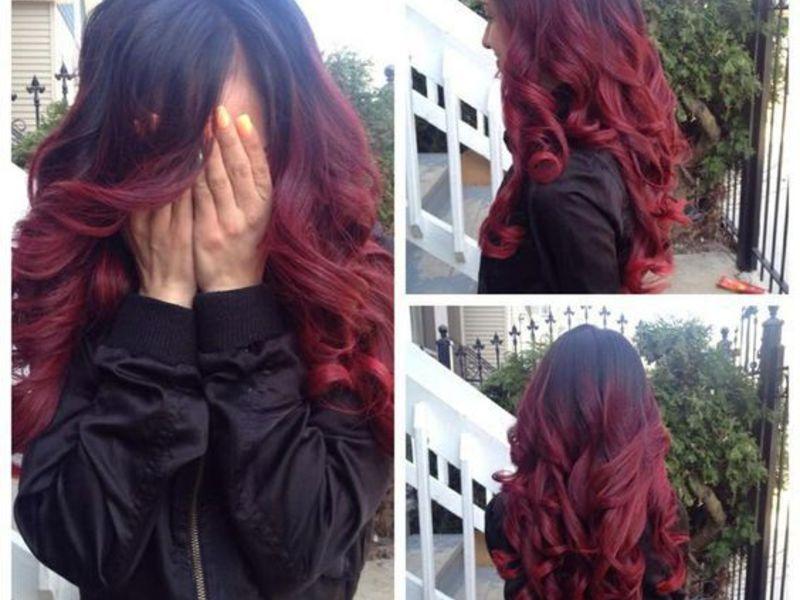 Ombre Hair Sur Une Base Brune 54 Photos Absolument Hallucinantes Coupe De Cheveux Ombre Hair Sur Une Base Brune 54 Pho Hair Styles Ombre Hair Hair