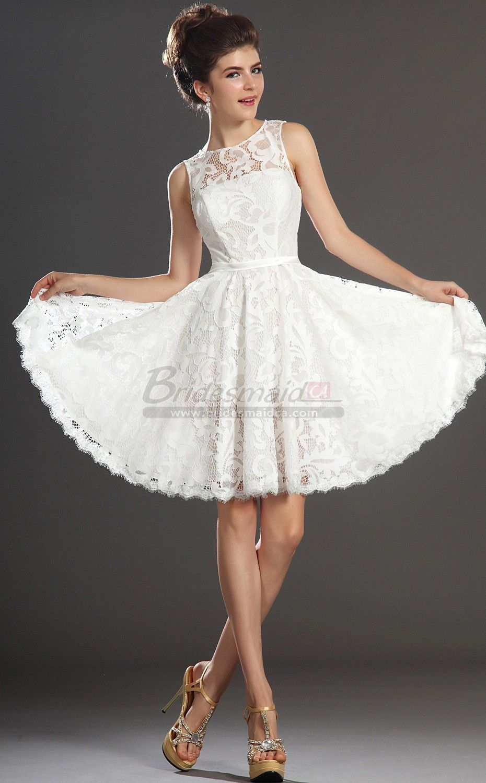 White short lace jewel neck vintage bridesmaid dress bd ca426 white short lace jewel neck vintage bridesmaid dress bd ca426 bridesmaidca ombrellifo Images