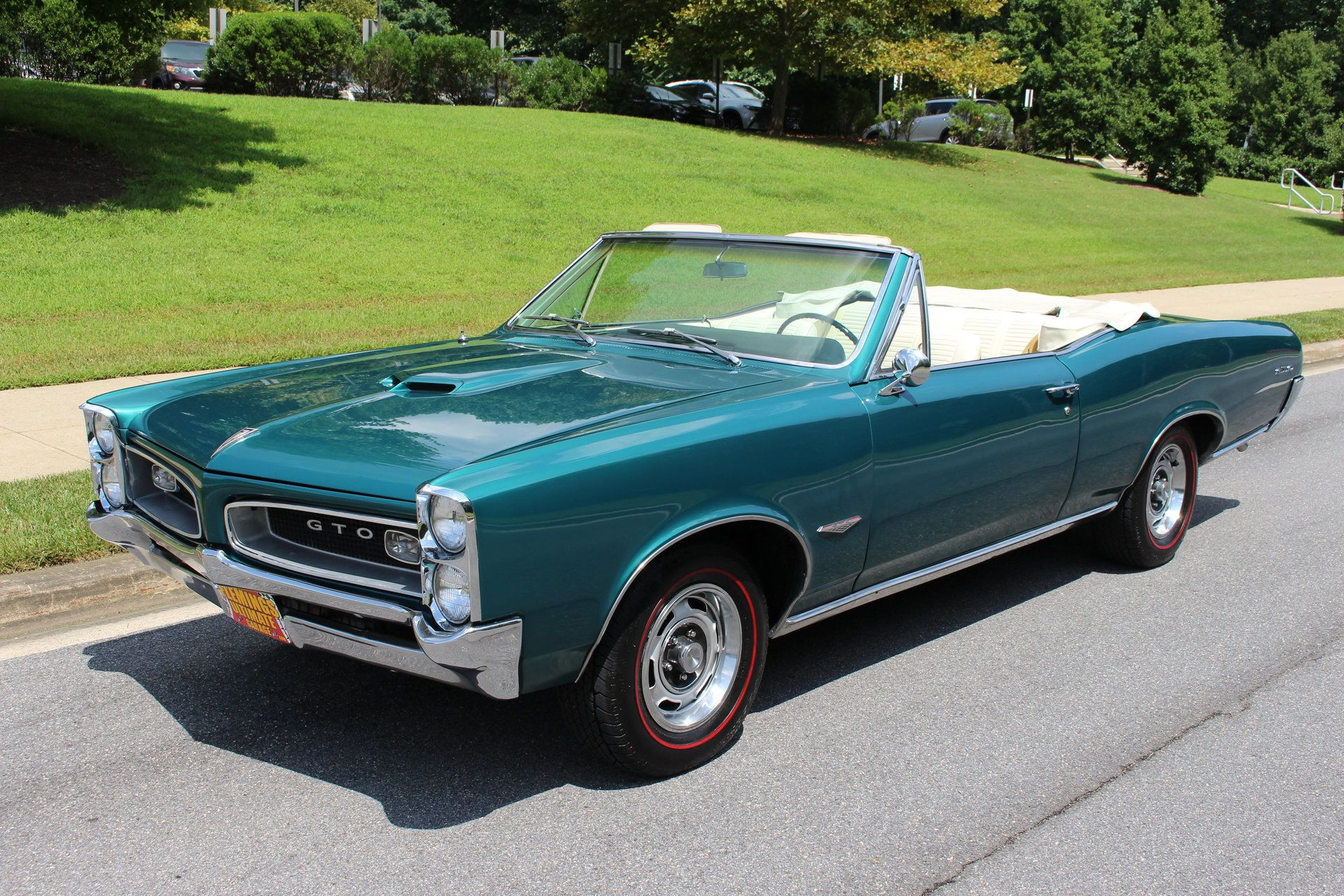 1966 Pontiac Gto Convertible For Sale 95698 Mcg Pontiac Gto Premiere Voiture Voitures Musclees