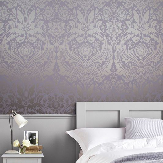 Desire Lavender Wallpaper Large Purple Wallpaper Bedroom Victorian Living Room Wallpaper Wallpaper Bedroom