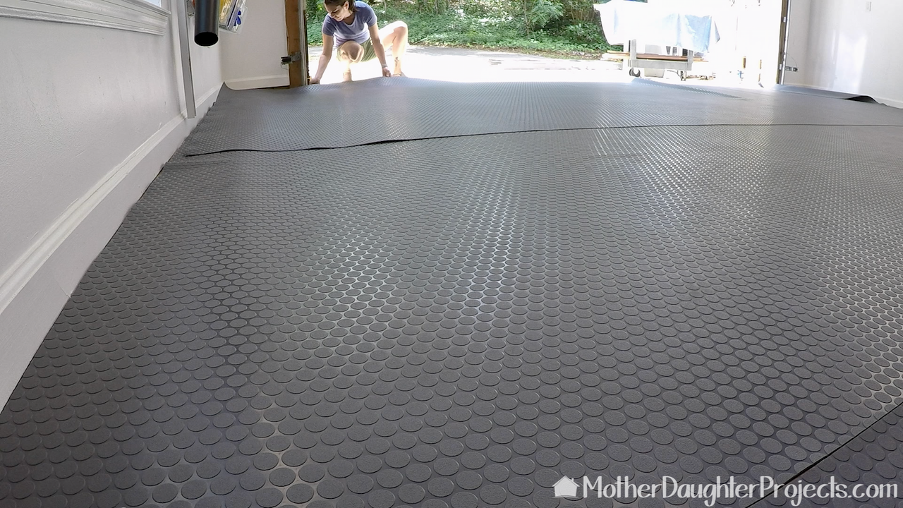 Diy Vinyl Garage Flooring
