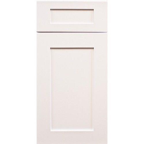 white shaker cabinet doors. Ice White Shaker Cabinet Door Sample Doors U
