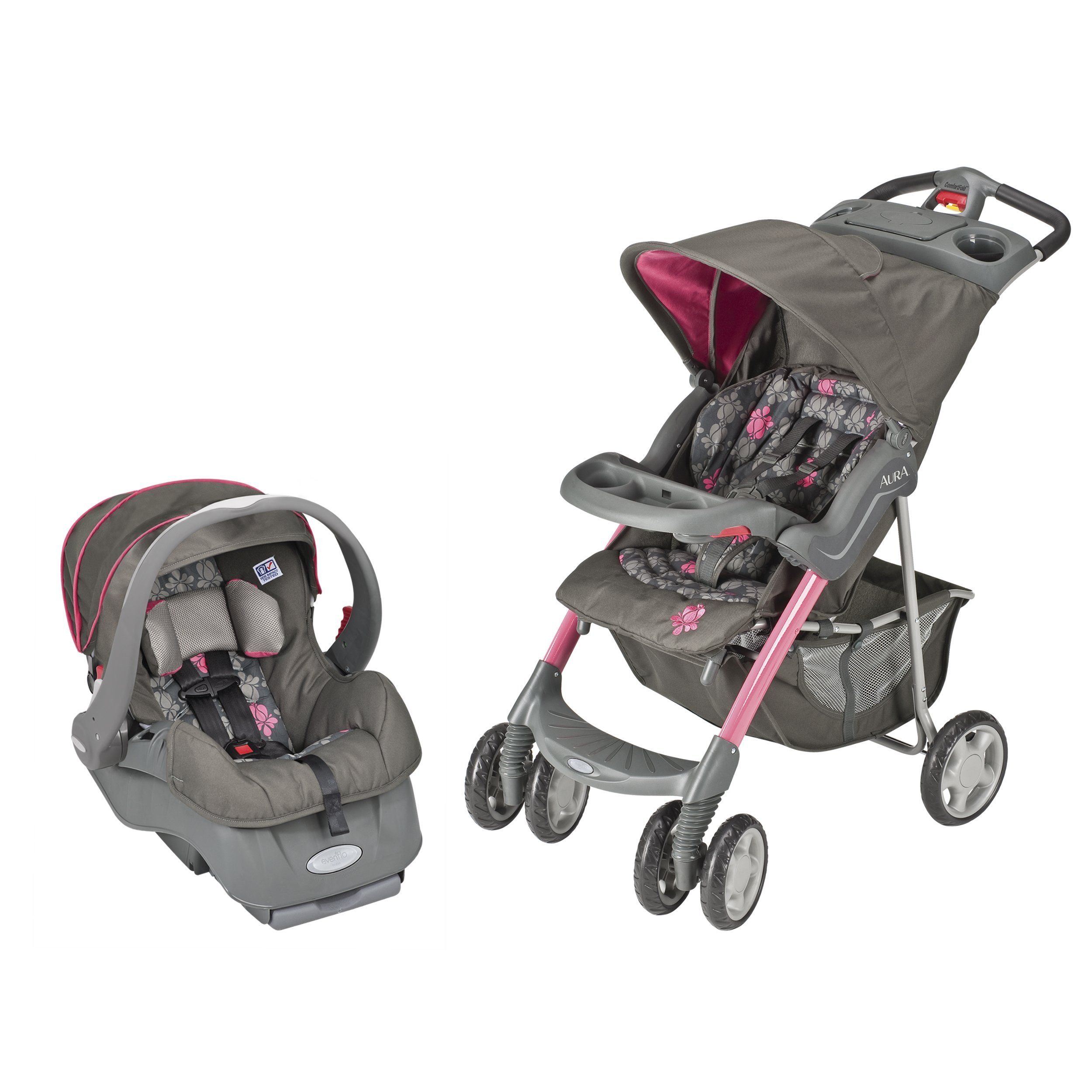 Evenflo Aura Embrace Travel System, Alahambra (With images