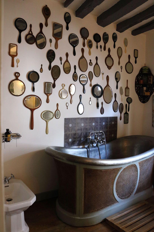 creative handmade mirrors - 736×1104