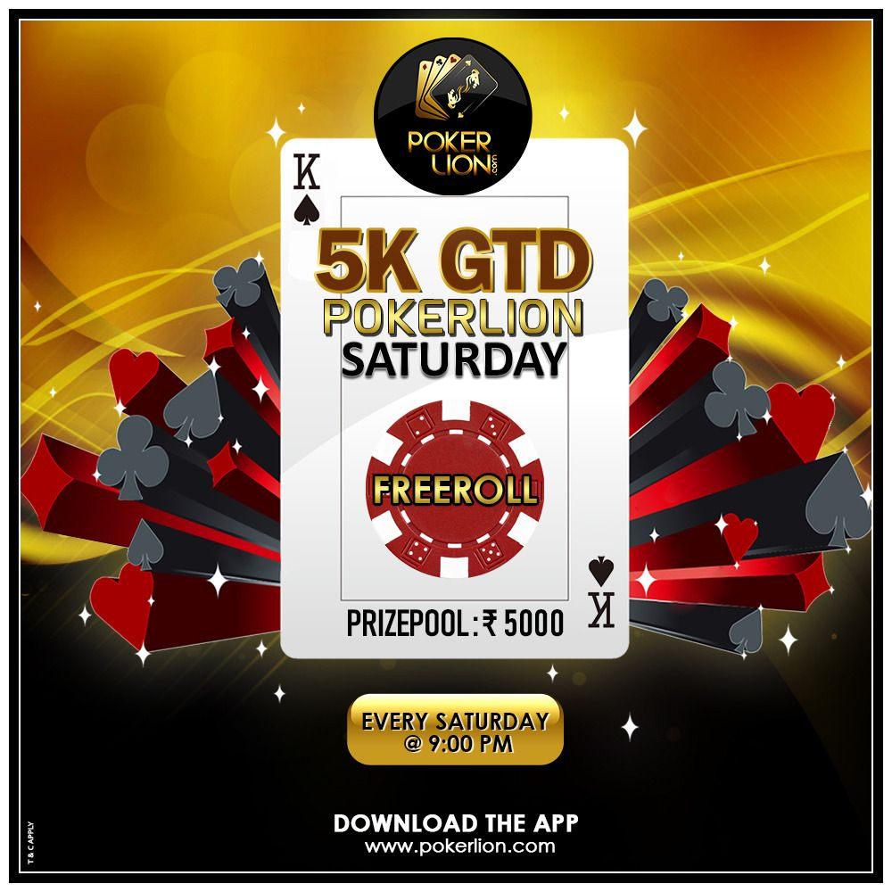 Leisure yourself and play 5k GTD PokerLion