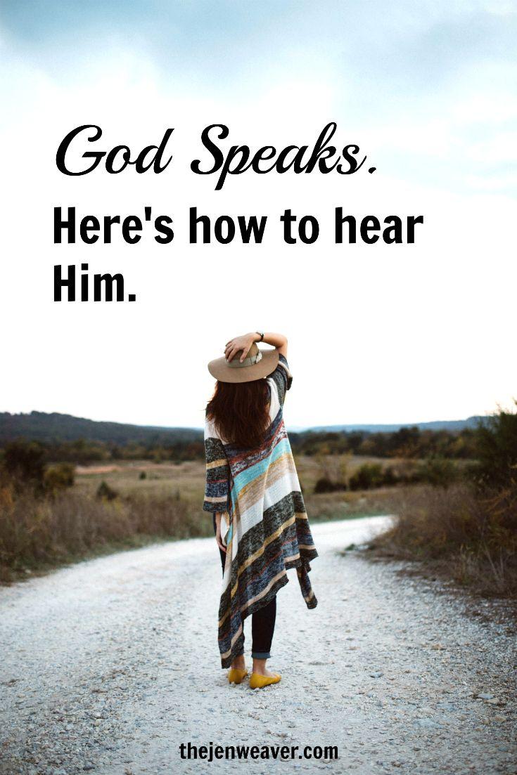god still speaks are we listening