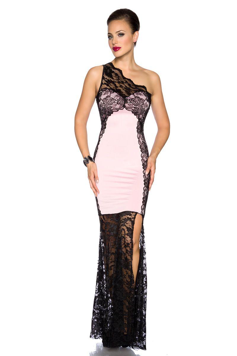 Abendkleid - schwarz/rosa | Abendkleider | Kleider & Röcke ...