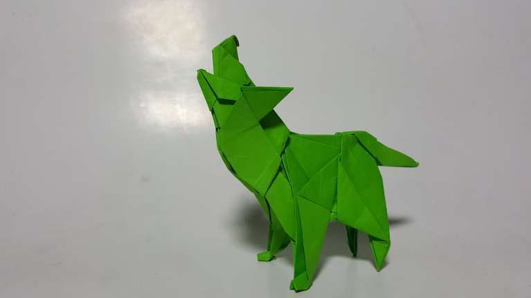 Beautiful Origami Wolf Instructions Best Photos For World