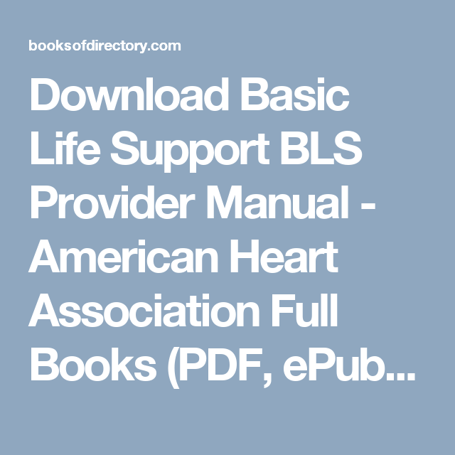 Download basic life support bls provider manual american heart download basic life support bls provider manual american heart association full books pdf fandeluxe Gallery